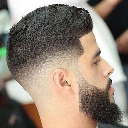 Short Hair + Long Beard