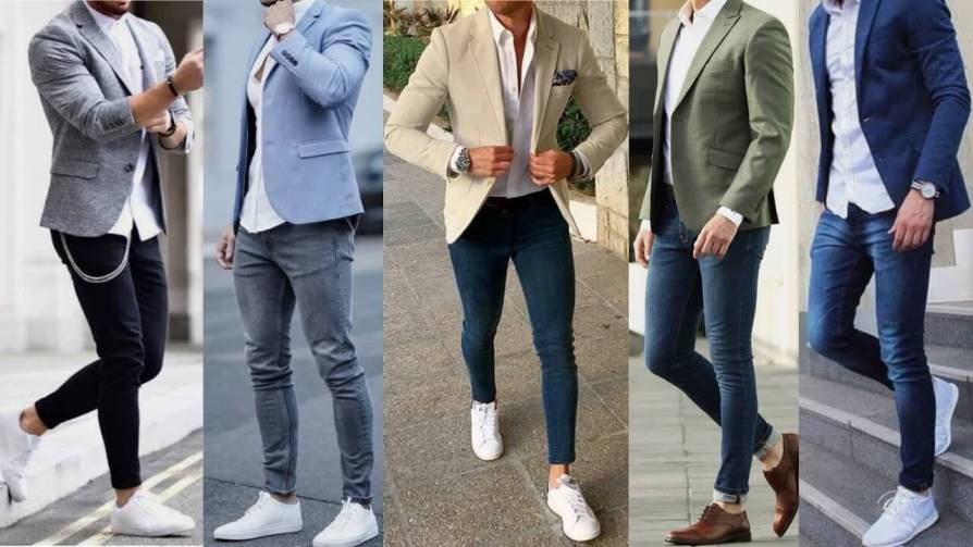 Best Blazer With Jeans outfits For Men