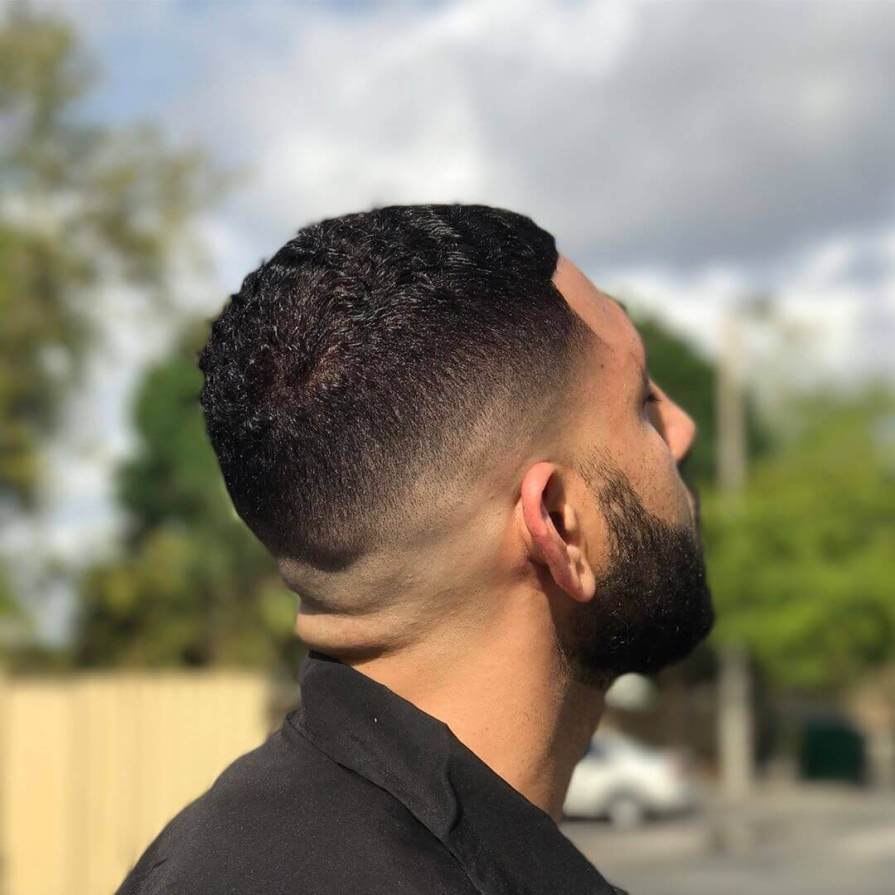Buzz Fade Haircut For Men