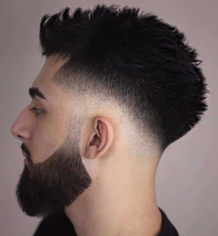 Mid Fade Haircuts For Guys