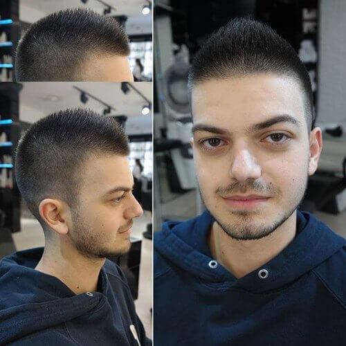 Short Faux Hawk Hairstyle