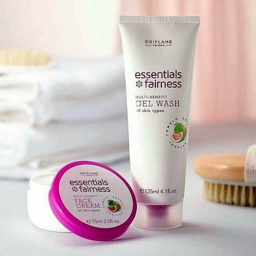 Oriflame's Essential Fairness Face Cream for men