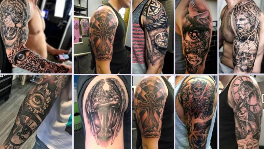 Cool Shoulder Tattoos for Men 2021-Best Shoulder Tattoos For Guys 2021