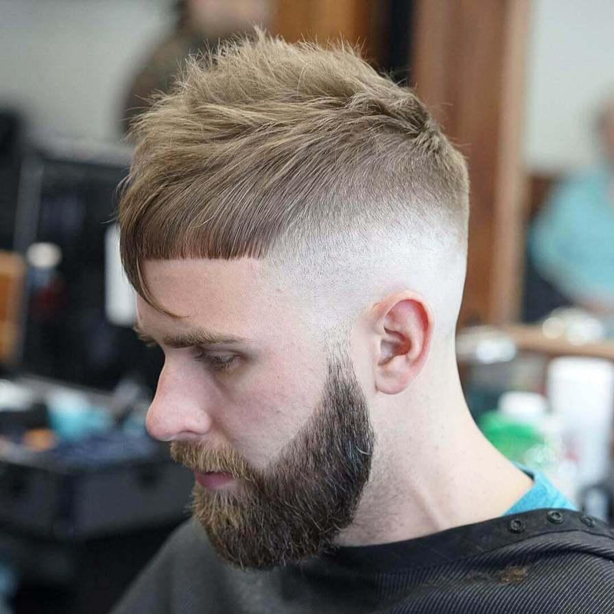 Faded Crop Haircut