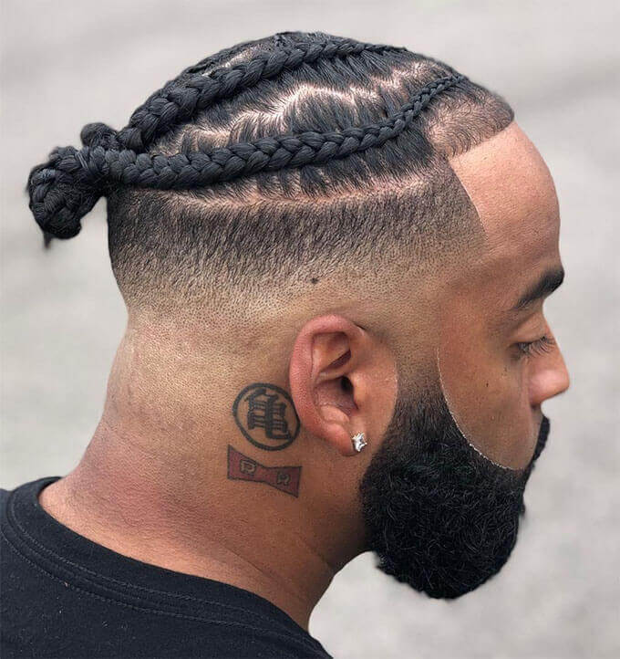 New Braid Hairstyles For Men 2021-Cool Braids Styles for Men 2021-Braids For Men