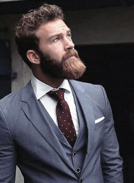 Thick Bushy Beard styles for men 2021