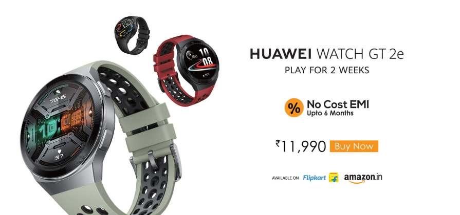 10. The Huawei Watch GT 2e