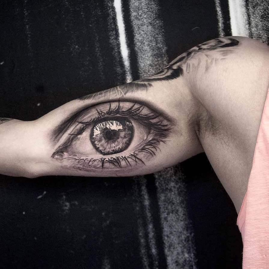 biceps tattoos for men