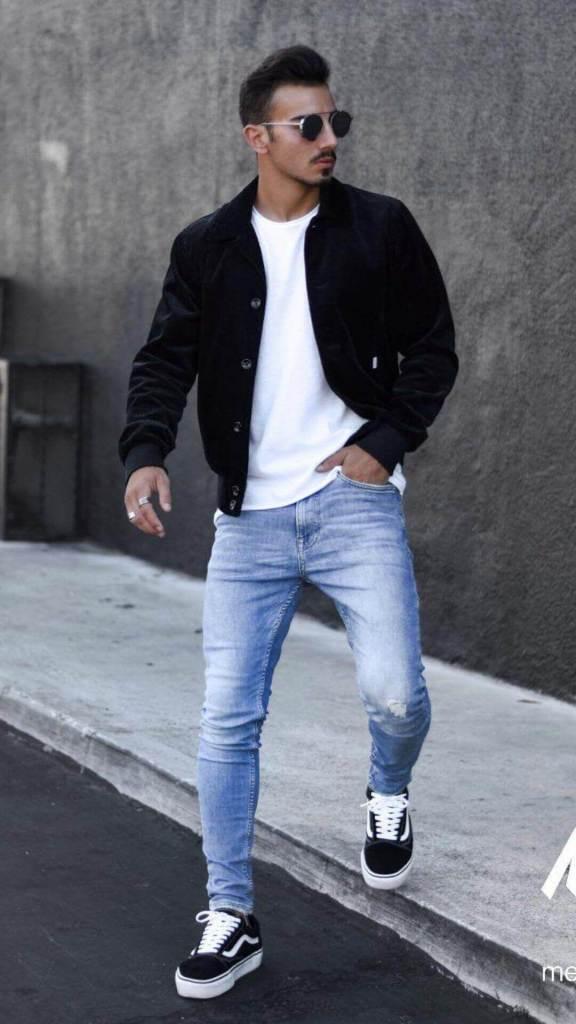 attractive skinny guys fashion