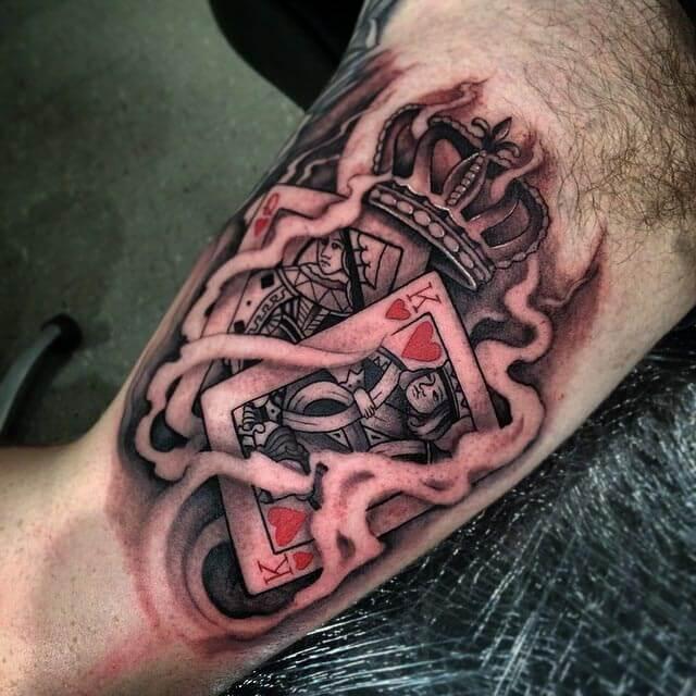 card tattoo designs