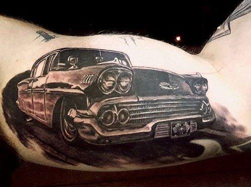 car tattoo designs for men
