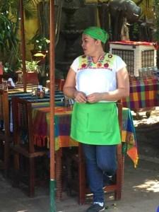 Waitress at El Meson de los Laureanos