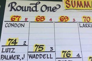 US Senior Amateur scoreboard