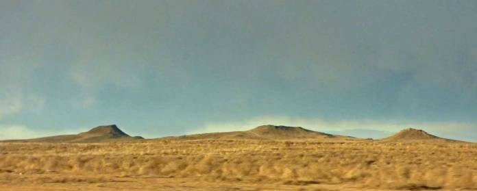 Volcanoes on Albuquerque's west side