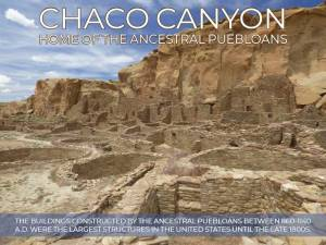 Chaco Canyon fact