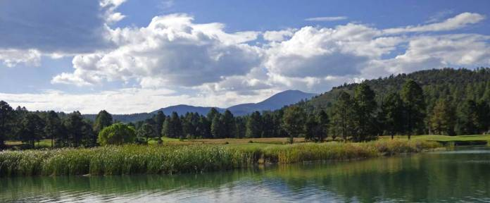 Inn of thLake Mescalero and Sierra Blancae Mountain Gods golf course