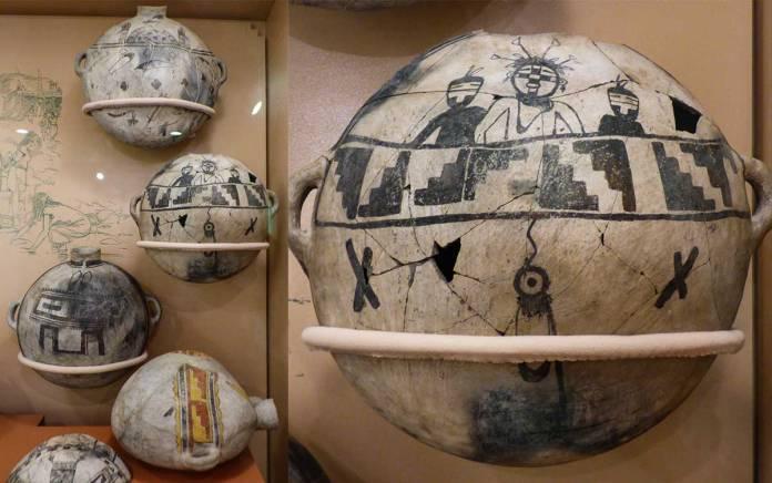 Pottery backpacks