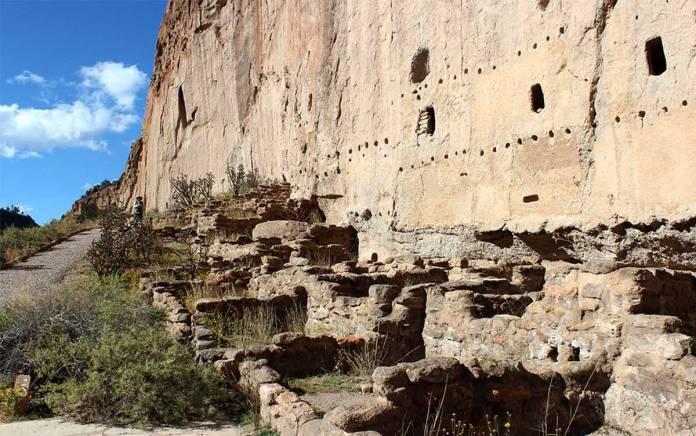 Bandelier ruins