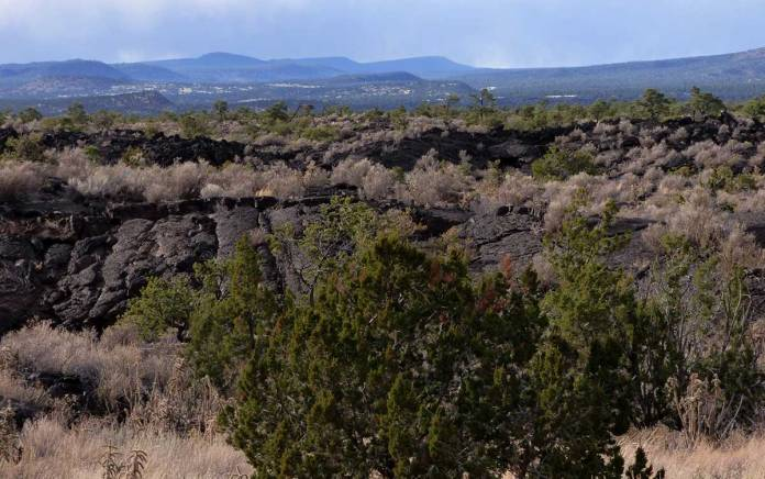 El Malpais National Monument near Grants