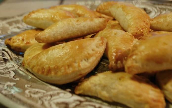 A plate of empanadas