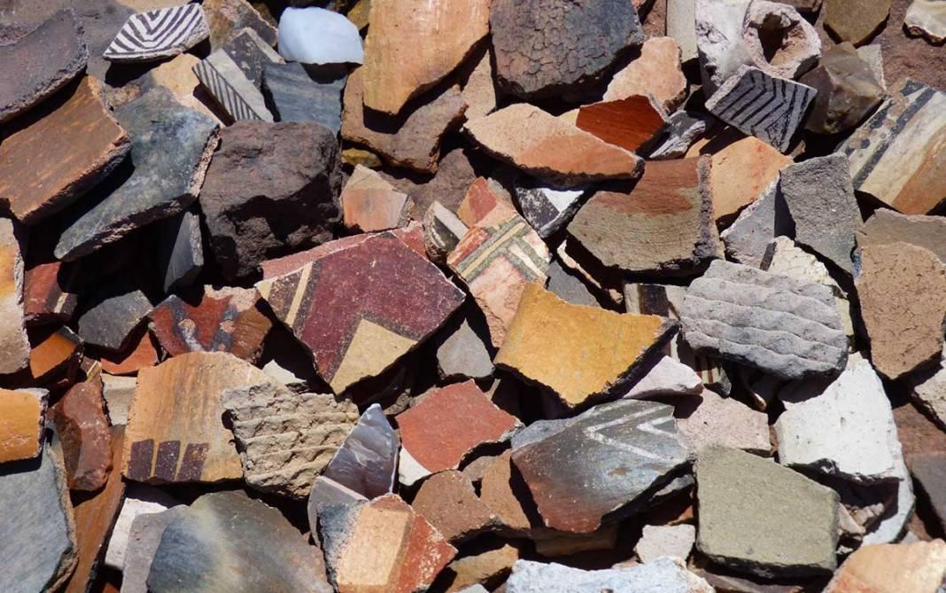 Pottery at Hawikuh