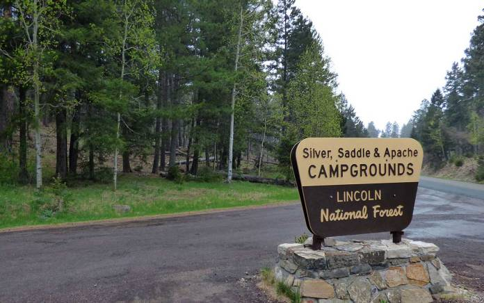 Silver Saddle campground