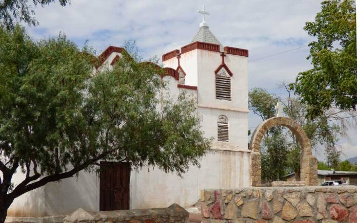 Our Lady of Purification Church in Doña Ana