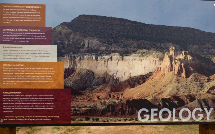 Geology of Ghost Ranch