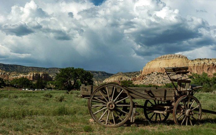 Ghost Ranch wagon