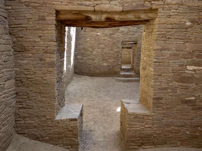 Chaco key door