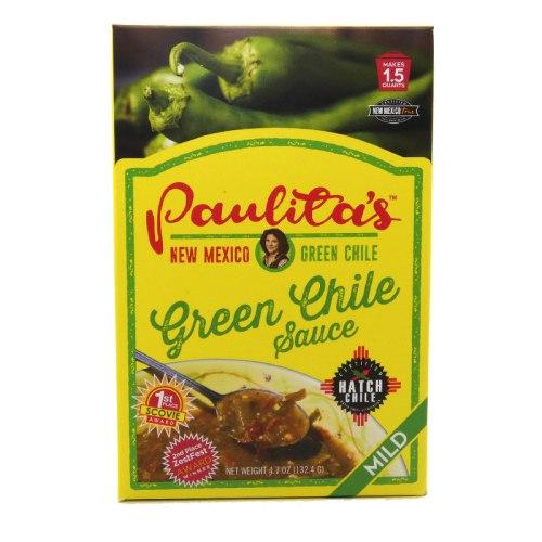 Paulitas mild green chile sauce