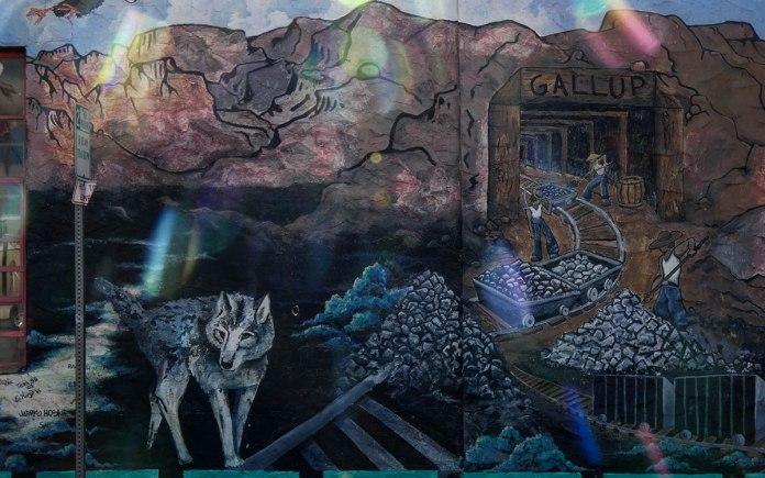 Gallup coal mining history