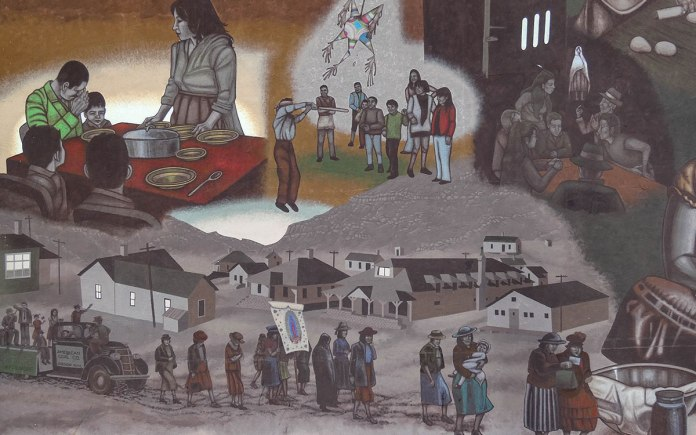 Life in Gallup mural