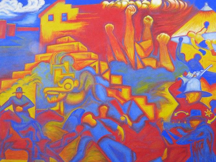 Coal Mining Era mural