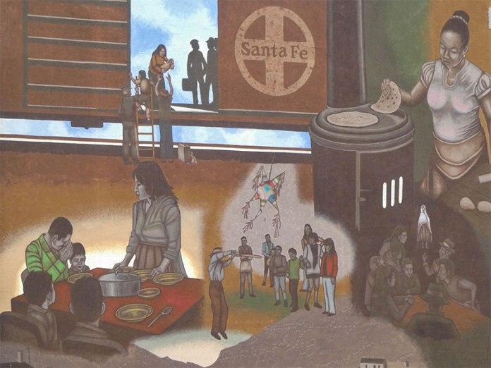 Hispanic Heritage mural