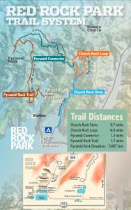 Red Rock Park Trail System in Gallup New Mexico