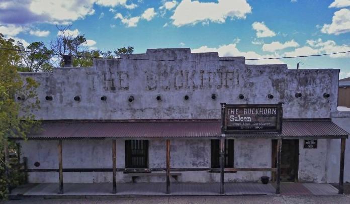 Buckhorn Saloon in Pinos Altos