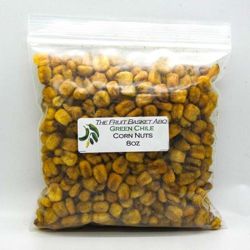 8-ounce green chile corn nuts