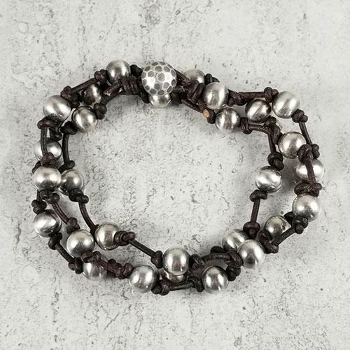 Manpower wrap bracelet