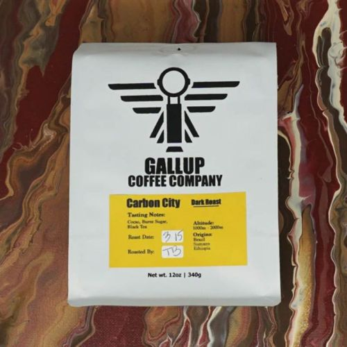 Gallup Coffee Company carbon city coffee