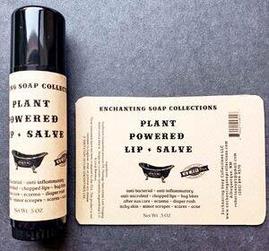 plant powered salves