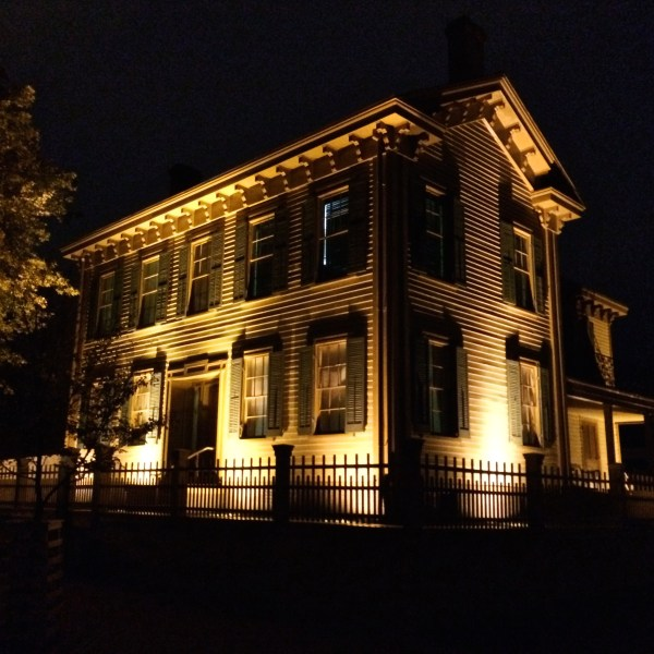Lincoln Home, Lincoln Home National Historic Site October 15, 2014 Click for larger version.