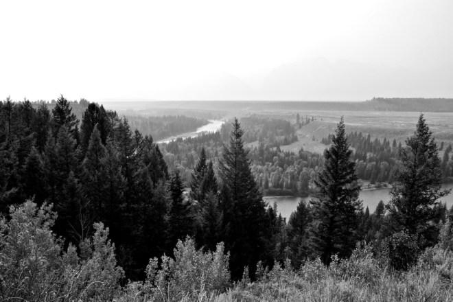 Snake River and Teton Range, August 22, 2015