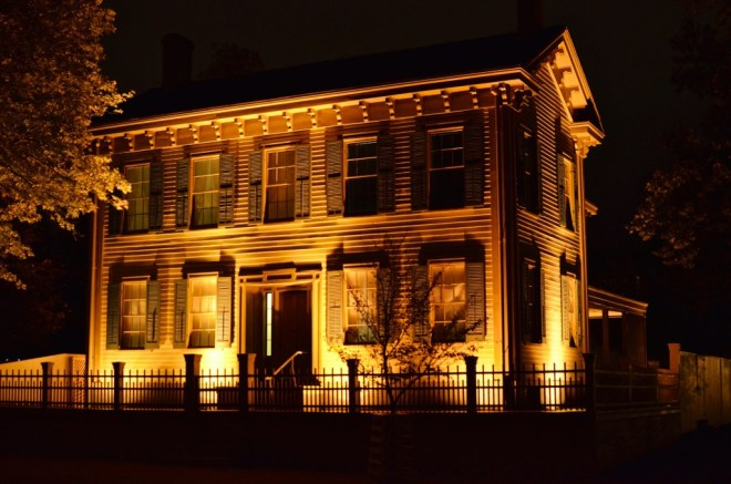 To commemorate the Gettysburg Address, NewMexiKen photo of the Lincoln Home, Springfield, taken October 15, 2014.