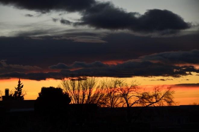 Sunset December 15th
