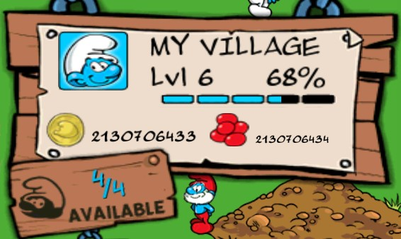 Smurfs' Village Smurfberries mod