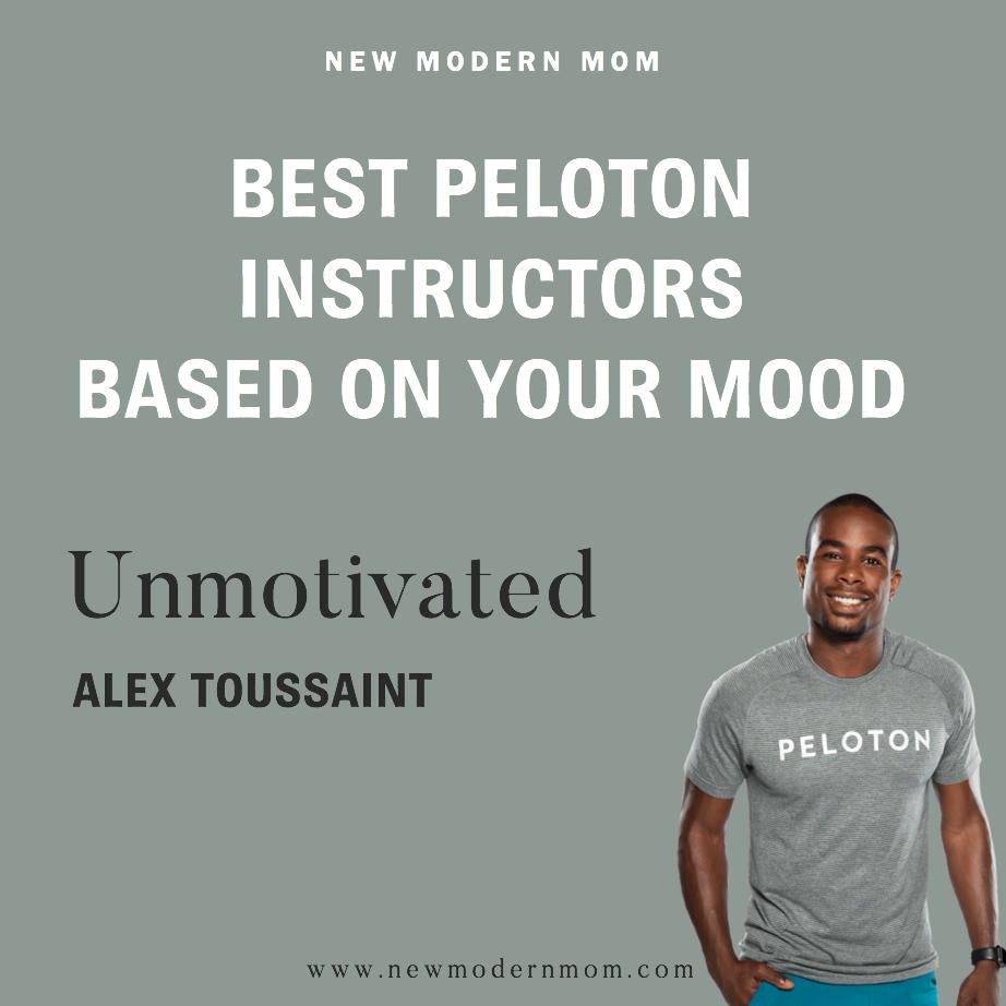 Best Peloton Instructors Based on Your Mood: Alex Toussaint