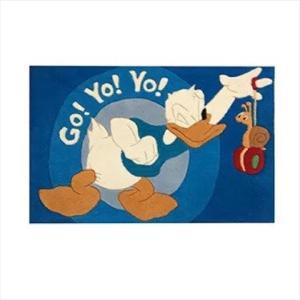 Χειροποίητο Χαλί Disney Donald Duck Yo Yo (69x108cm)