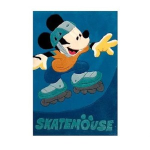 Χειροποίητο Χαλί Disney Mickey Skatemouse (69x1108cm) DH004A