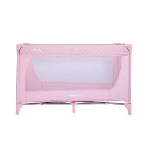 Παρκοκρέβατο Medley 1 Level Pink Kikkaboo (ΔΩΡΟ Μασητικό Οδοντοφυΐας)